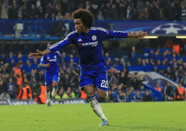 Image result for Chelsea vs Dynamo Kyiv 2-1 Willian