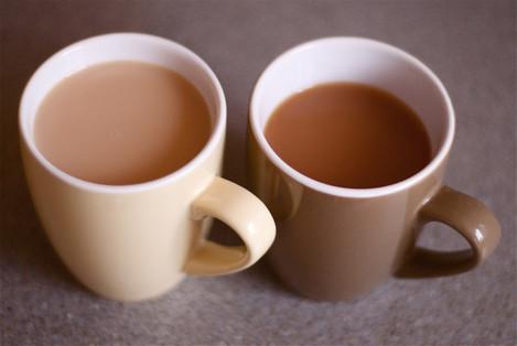 Mugs of tea