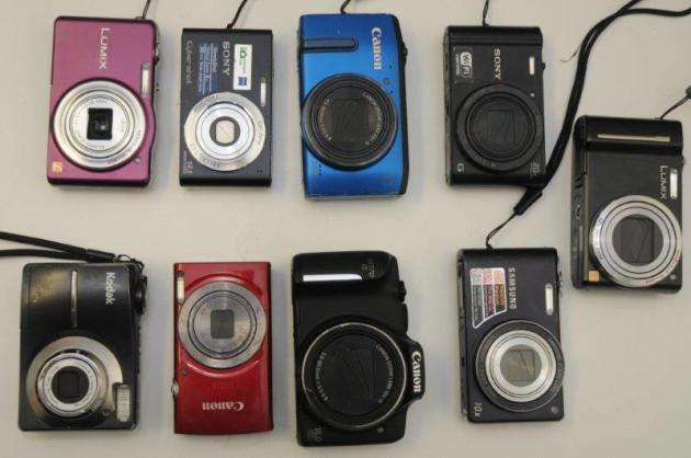Cameras - assorment of 9
