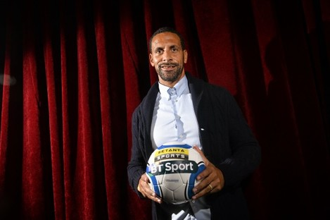 Roundtable interview with Rio Ferdinand for Setanta Sports at WebSummit 2015