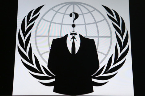 Anonymous hacker stock