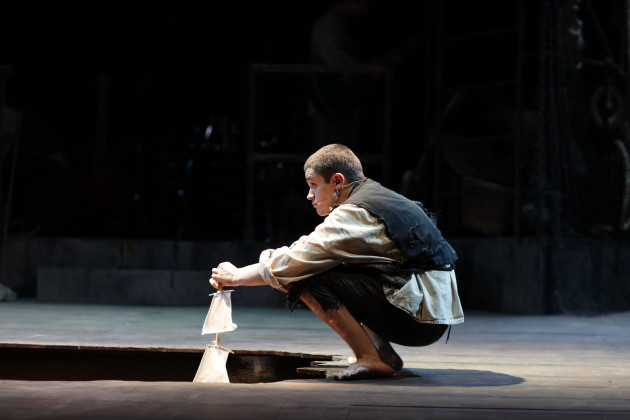 Stephen O'Leary in The Unlucky Cabin Boy by Mike Finn Music & Lyrics by David Blake Directed by Paul Meade Photo by Tom Lawlor
