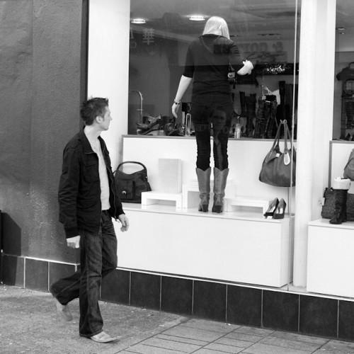 Window shopping. #cork #oliverplunkettstreet