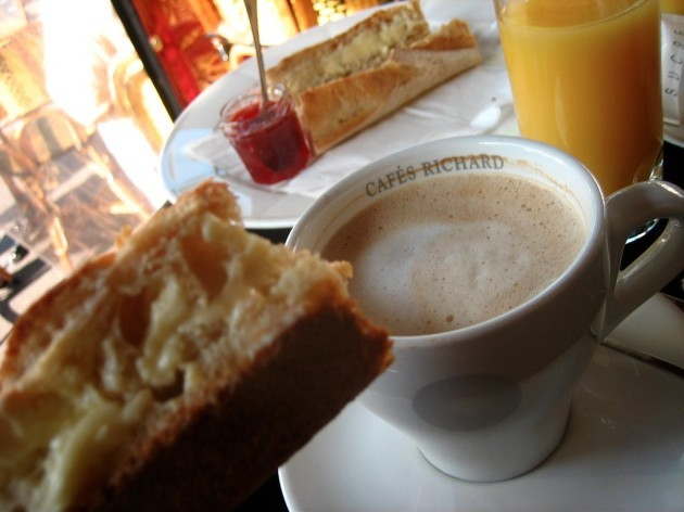 france-a-traditional-breakfast-is-coffee-and-either-baguette-or-croissant-like-cubans-the-french-often-dip-their-buttered-bread-into-coffee