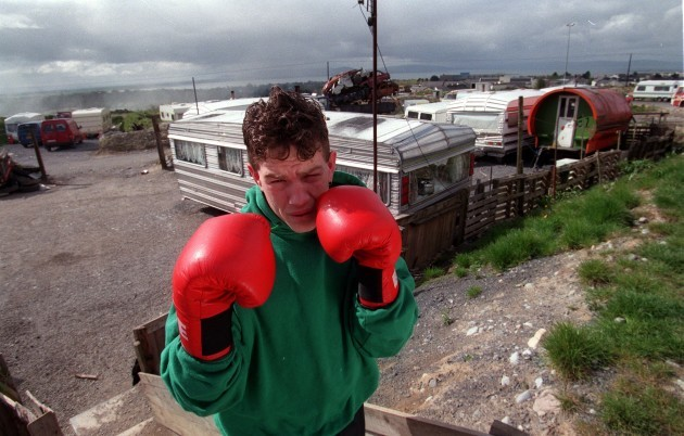 1996 Irish Olympic Boxer Francis Barrett