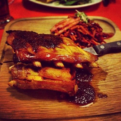 好吃又便宜的bacon ribs