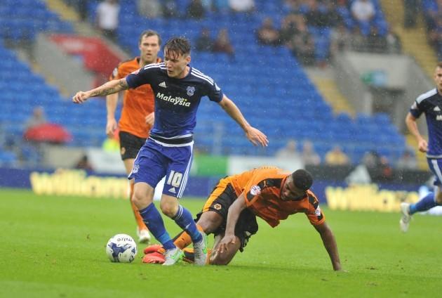 Soccer - Sky Bet Championship - Cardiff City v Wolverhampton Wanderers - Cardiff City Stadium