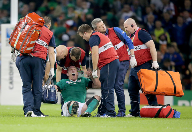 Paul O'Connell down injured