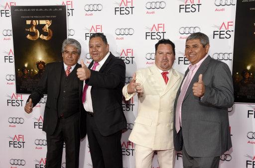 2015 AFI Fest - The 33 - Arrivals