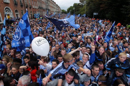 Dublin GAA homecoming