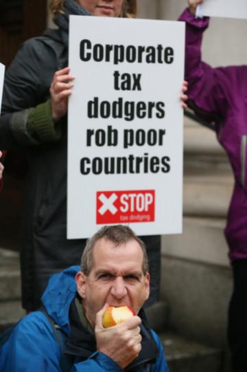Tax protest - Dublin