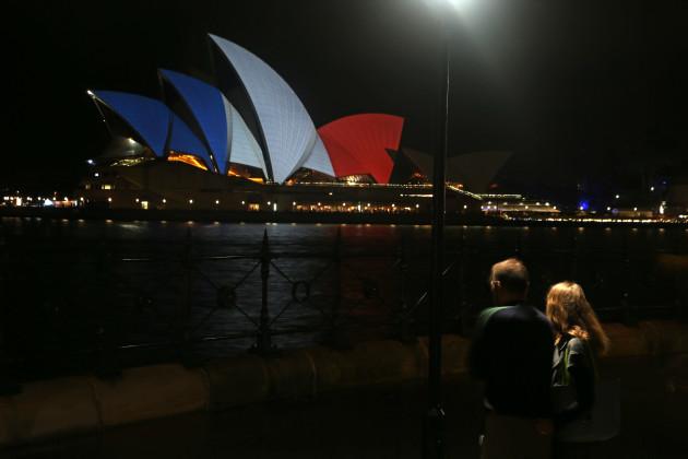 Australia France Paris Attacks