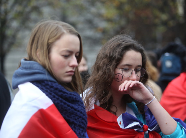14/11/2015. French Solidarity March. Pictured the