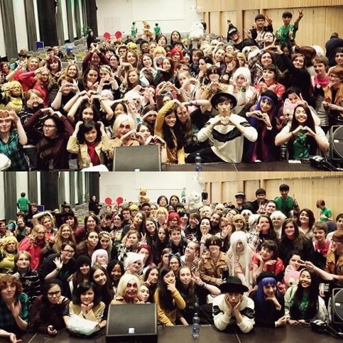 Thank you Dublin!! 사랑해요~ #ireland #eirtakon #dublin #dabit #performance #cosplay #europetour #kpop #다빗 #유럽투어 #아일랜드 #더블린 #공연