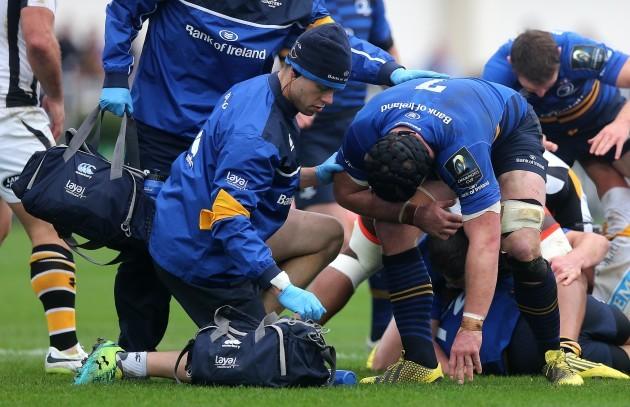 Sean O'Brien gets treatment
