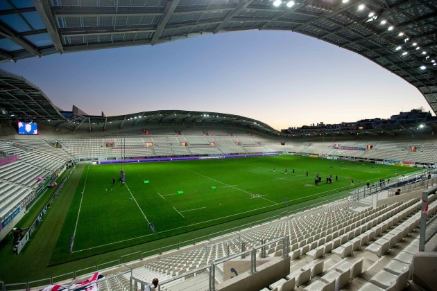 The Stade Jean Bouin before tonight's game