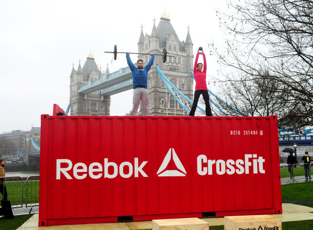 Reebok's 'The Sport Of Fitness Has Arrived' campaign launch - London