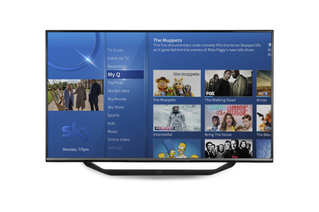 Sky Q - My Q - In TV