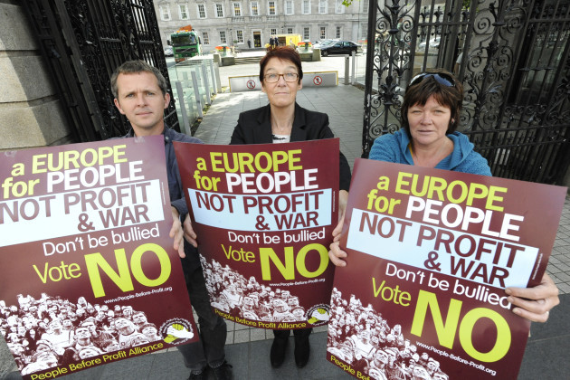 7/9/2009. Anti Lisbon Treaty Campaigns