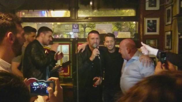 Robbie Keane Auld Dub