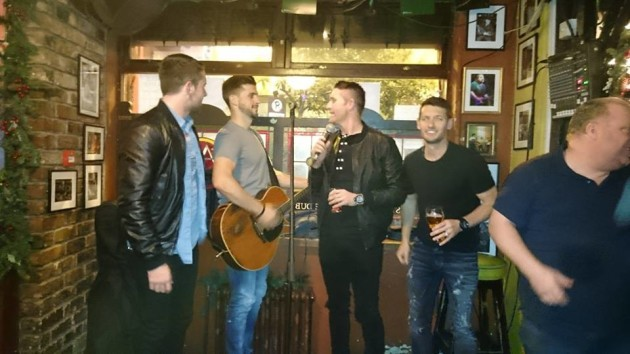 Ireland boy band auld dub