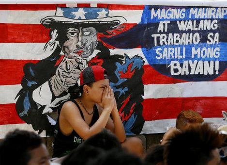 Philippines APEC Protest