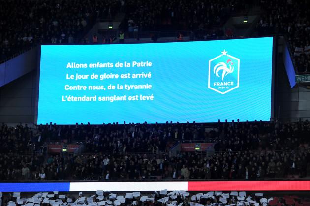 England v France - International Friendly - Wembley Stadium