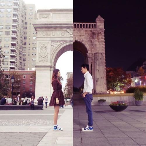 LISEOK ✖️ SHINDANBI on Instagram: 03 : Pass / 지나감 (2015 Triumphal Arch, Washington square Park NY / 서울 서대문구 독립문) 우리의 시간이 지나가면 우리의 이야기도 지나갑니다. 우리의 지난 시간을 기억하고자합니다. 그대의 어젯밤이...
