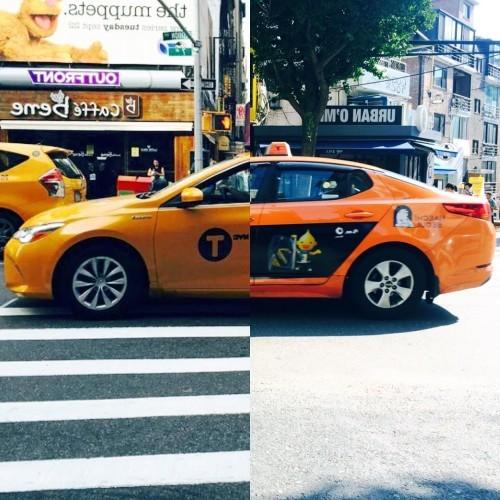 LISEOK ✖️ SHINDANBI on Instagram: NYC Yellow Cab