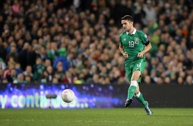 Republic of Ireland v Bosnia and Herzegovina - UEFA Euro 2016 Qualifying - Play-off - Second Leg - Aviva Stadium