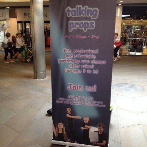 We're on tour! Next stop...Merry Hill Shopping Centre this Thursday and Friday