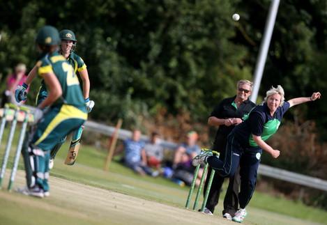 Cricket - First Womens T20 - Ireland v Australia - YMCA Cricket Club