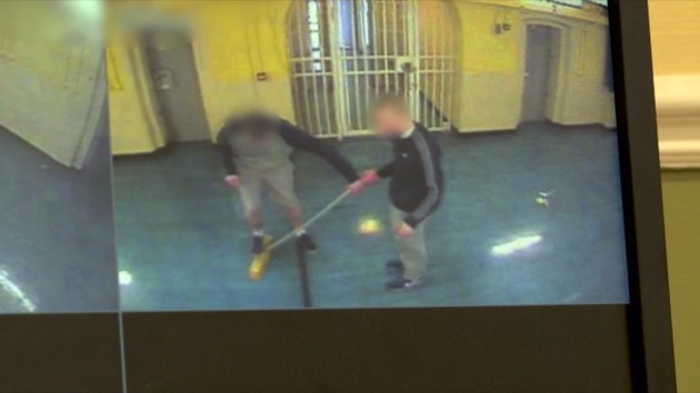 The Joy on TV3 - Ep 3 - In Picture: CCTV of Prisoner attacking officer with brush