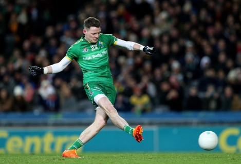 Conor McManus scores their third goal with a penalty