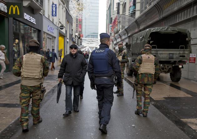 Belgium France Attacks