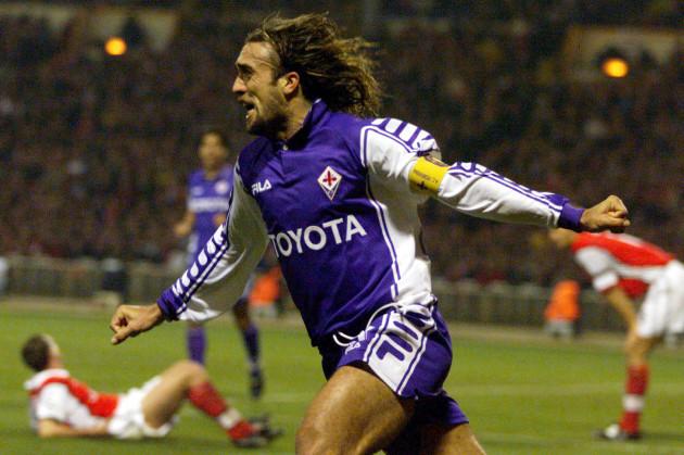 Soccer - UEFA Champions League - Group B - Arsenal v Fiorentina - Wembley Stadium