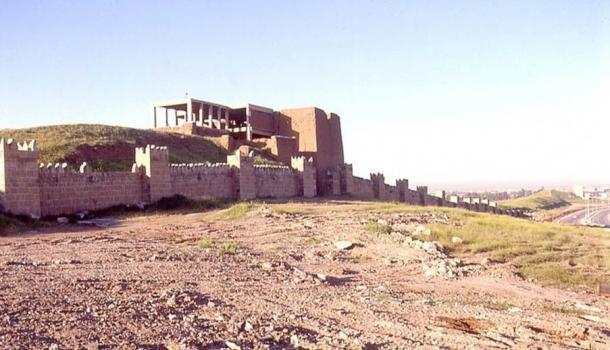 nineveh walls
