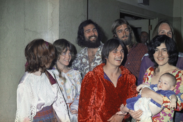 Manson Family Cultists 1970