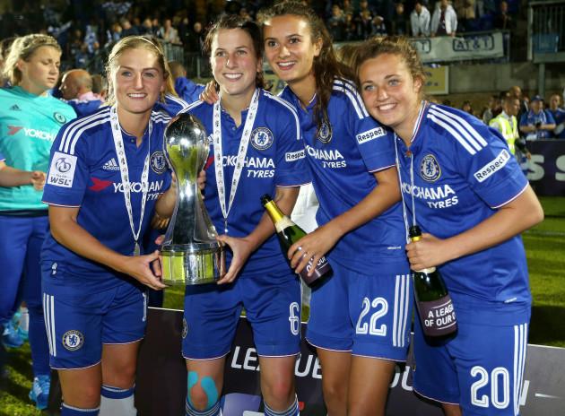 Soccer - Women's Super League - Chelsea Ladies v Sunderland Ladies - Wheatsheaf Park