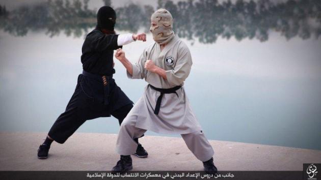 isis karate 9