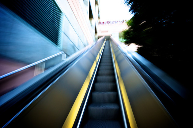 125/365 - Longest and Fastest Escalator In The World