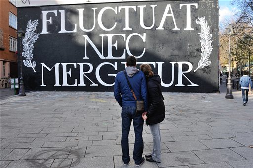 France Paris Attacks Street Art  Photo Gallery