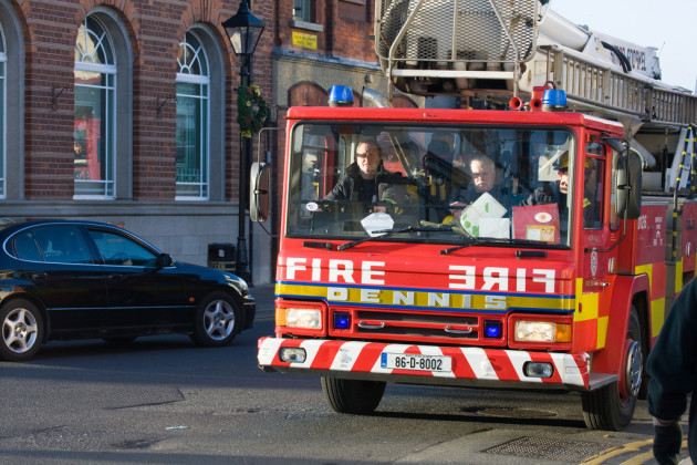 Fire Engine Cannot Reach Fire Due To Illegal Parking