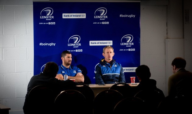 Rob Kearney and Leo Cullen