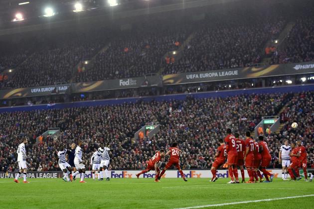 Liverpool v Bordeaux - UEFA Europa League - Group B - Anfield