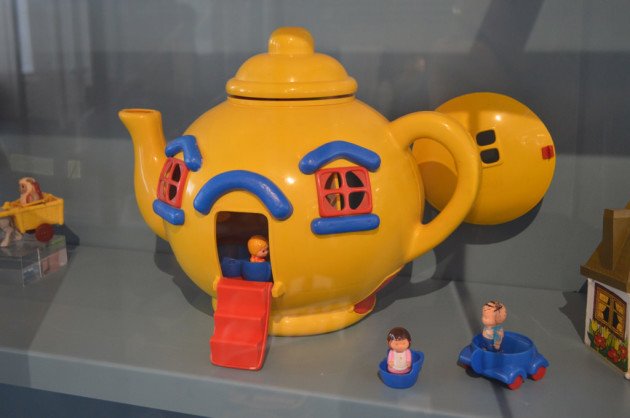 Big Yellow Tea Pot