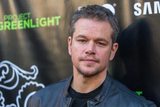 People-Matt Damon