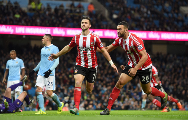 Manchester City v Southampton - Barclays Premier League - Etihad Stadium