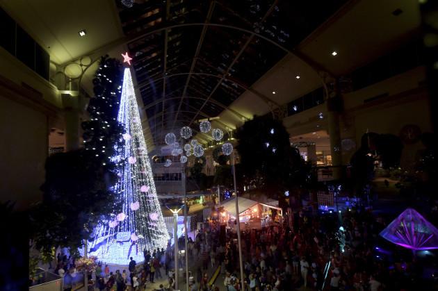 Australia Christmas Tree Lights