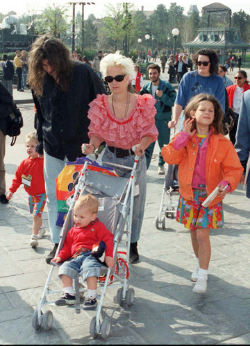 News - Euro Disney Resort - Bob Geldof and Paula Yates - France